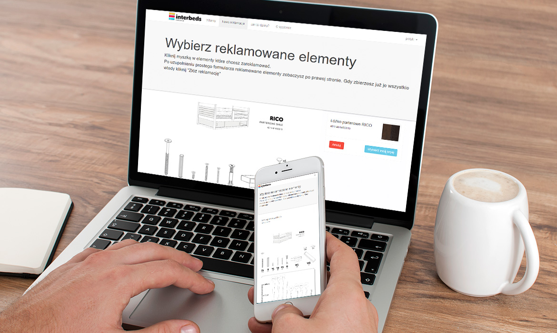 Nowy system reklamacyjny dla firmy INTERBEDS