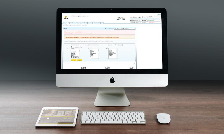 Projekt i administracja systemu zamówień mebli FORTE